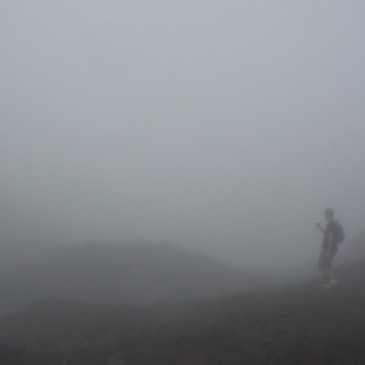 Hiking In Fog