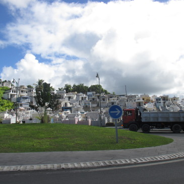 Biggest Cemetary On Gwada